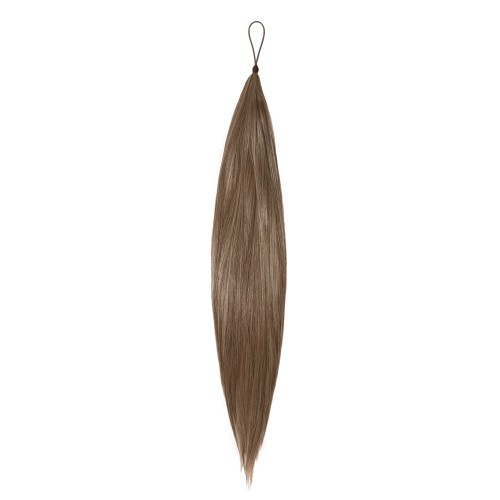 Human Hair Silky Straight Hair Addition - hair extensions for home use