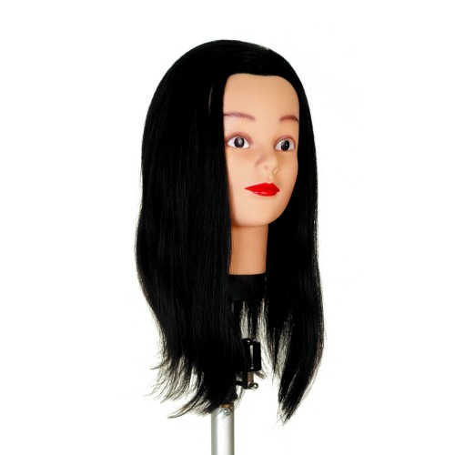 Human Hair Training Mannequin Head