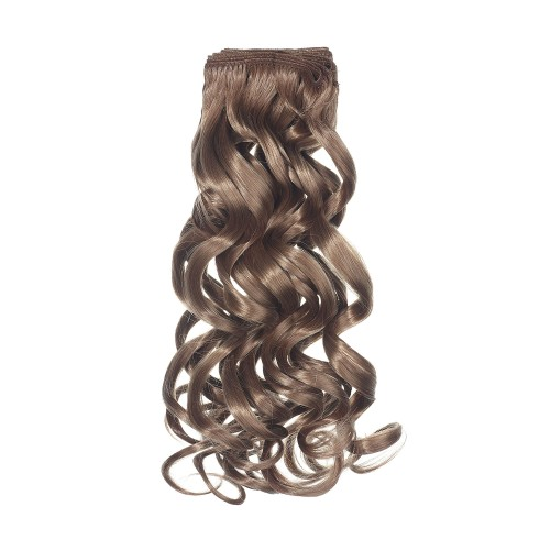 Curly Human Hair Extensions Gold Grade Exotic Curl Weft