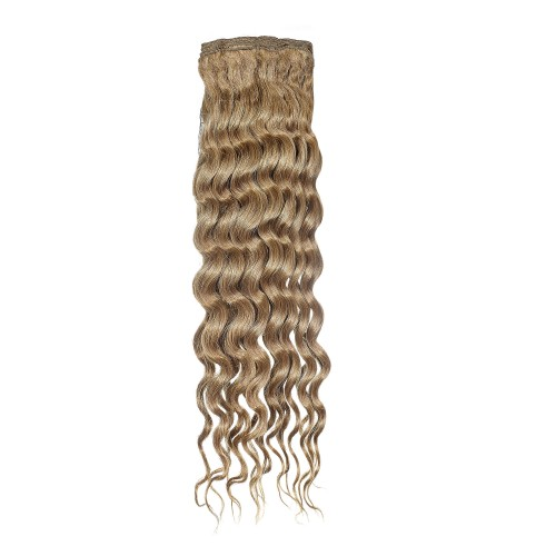 Curly and wavy human hair extensions - Platinum Grade by American Dream