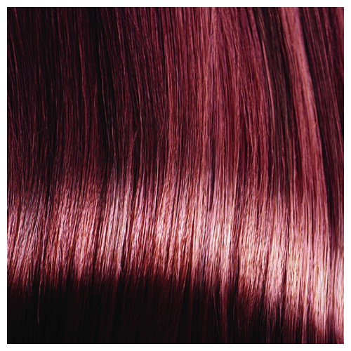 SARA - Premium Fibre Part-Monofilament Wig #Cocoa Red