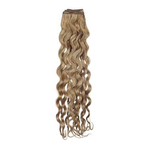 Curly human hair extensions - Platinum Grade by American Dream