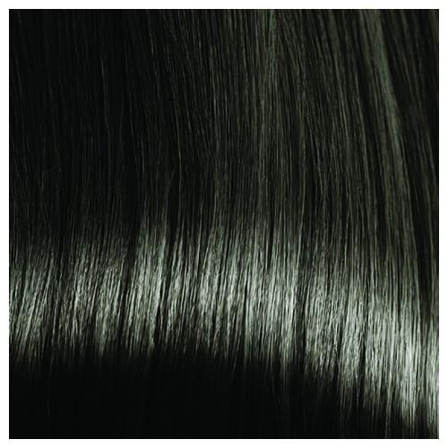 SARA - Premium Fibre Part-Monofilament Wig #Ebony