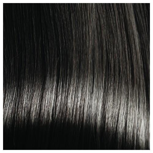 BRIDGET - Premium Fibre Part-Monofilament Wig #Espresso