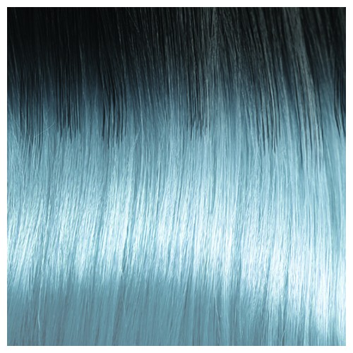 Kate Premium Fibre Part-Monofilament Wig #Ice Blue