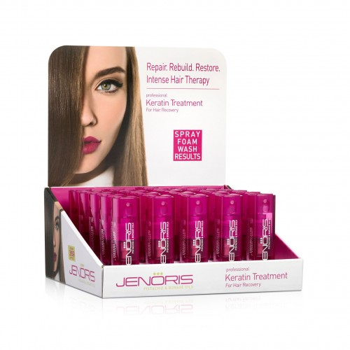 Keratin Treatment Spray for Hair Recovery 10ml - 25 Piece Pack