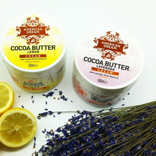 NEW American Dream COCOA BUTTER: Lemon and Lavender, SAVE 10%