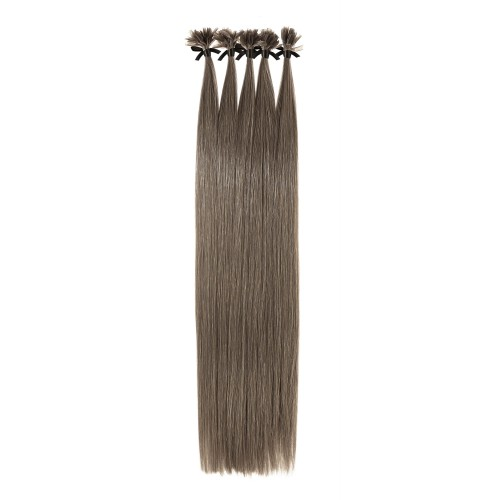Remy Human Hair Extensions - Ultimate Grade Silky Straight Double Drawn Keratin U-Tip Strands
