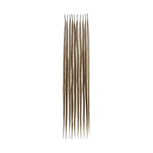Remy Human Hair Extensions Ultimate Grade Silky Straight Double Drawn Micro Ring I-Tip Strands