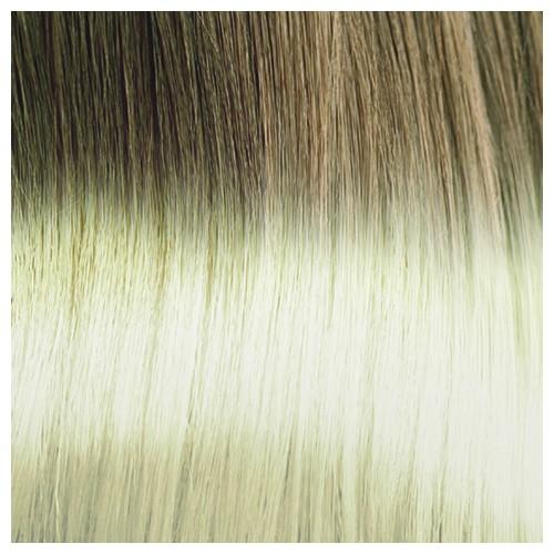 JACQUI - Premium Fibre Part-Monofilament Wig #Natural Platinum Swirl