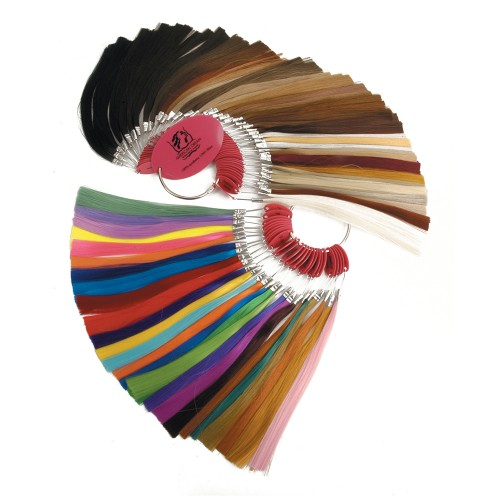 Premium Synthetic Fibre Hair Accessories Colour Ring