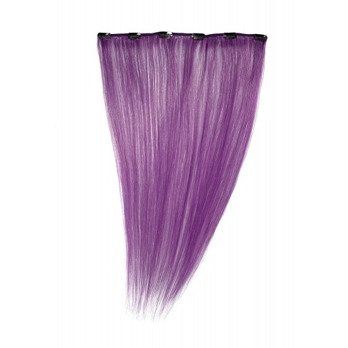 Purple Clip-In Human Hair Extensions by American Dream