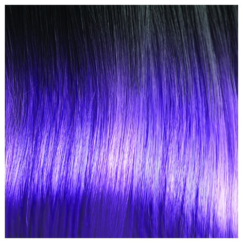 STEPHANIE Premium Fibre Part-Monofilament Wig #Sombre Purple